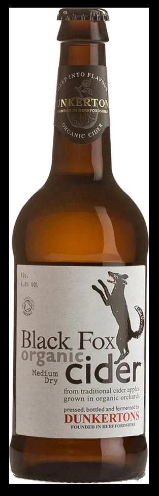 dunkerton's black fox cider